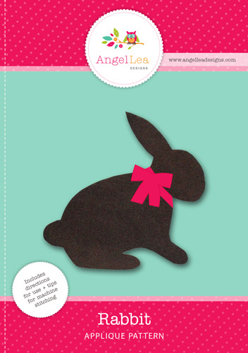 Rabbit Applique Template
