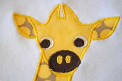 How to make and apply appliques step 8d