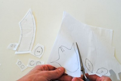 How to make and apply appliques step 2