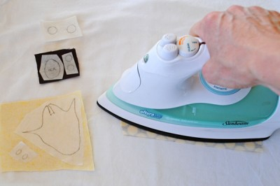 How to make and apply appliques step 3
