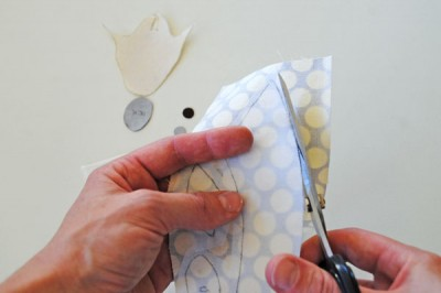 How to make and apply appliques step 4