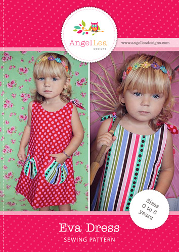 Eva Dress PDF Sewing Pattern - Angel Lea Designs