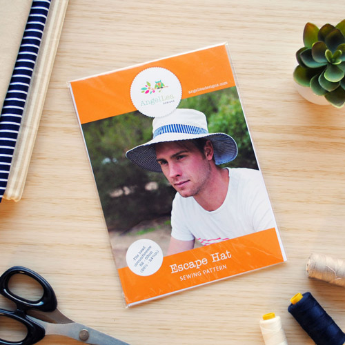 Escape Sun Hat Sewing Pattern - HARD COPY