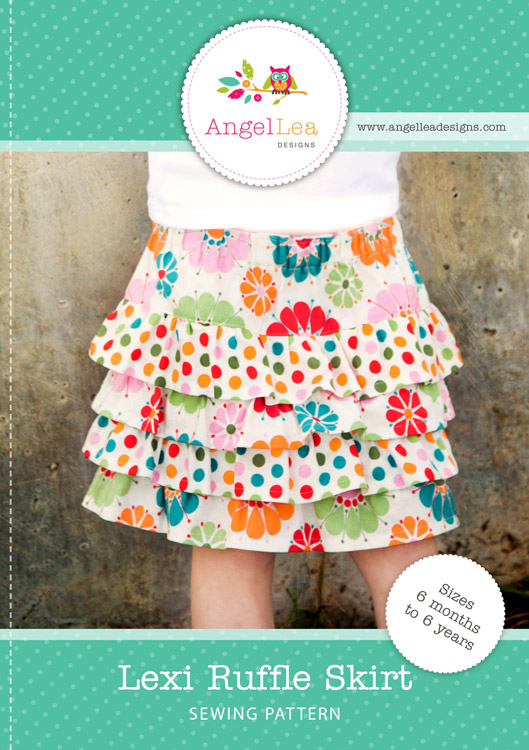 Lexi Ruffle Skirt PDF Sewing Pattern