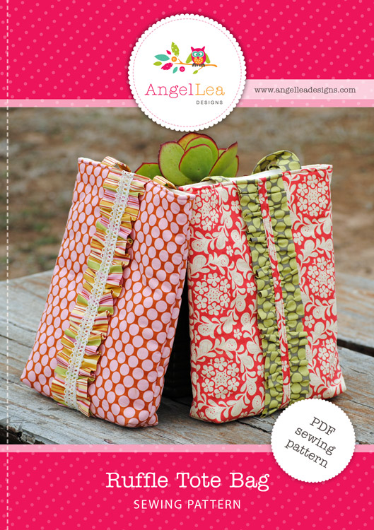 Ruffle Tote PDF Sewing Pattern