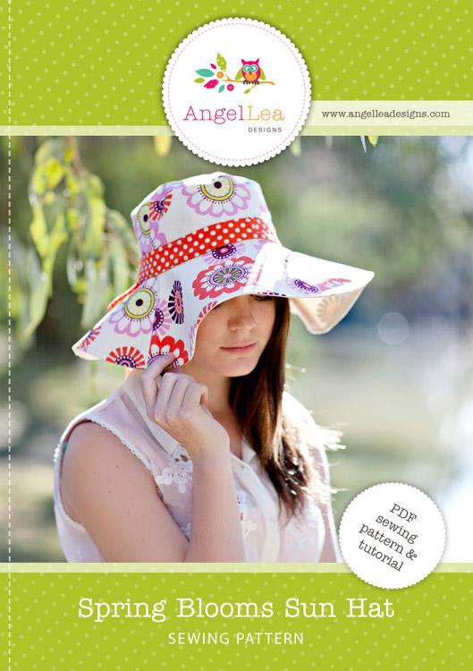 Spring Blooms Sun Hat PDF Sewing Pattern