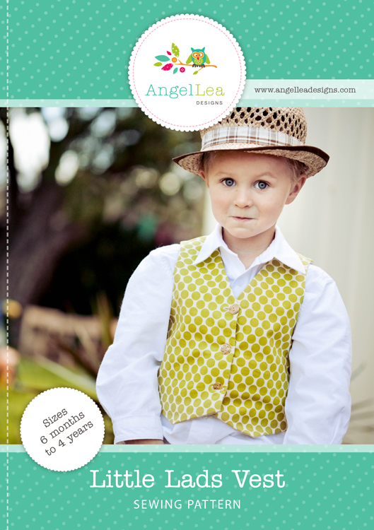 Little Lads Vest PDF Sewing Pattern