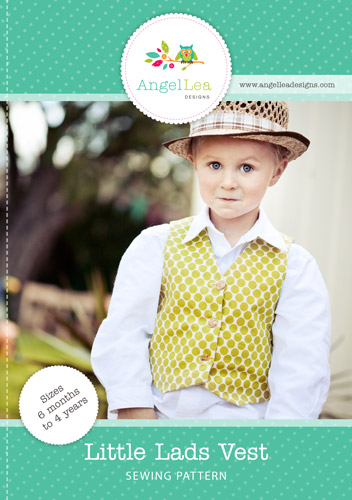 Little Lads Vest PDF Sewing Pattern