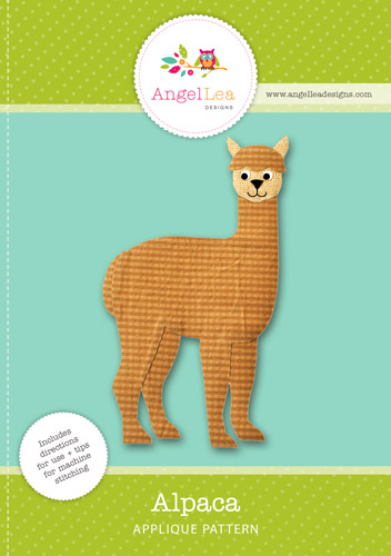 Alpaca Applique Template