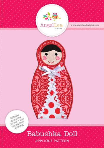 Babushka Doll Applique Template