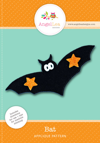 Bat Applique Template