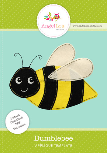 Bumblebee Applique Template