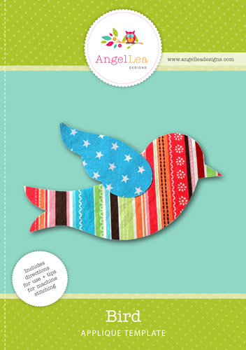 Bird Applique Template