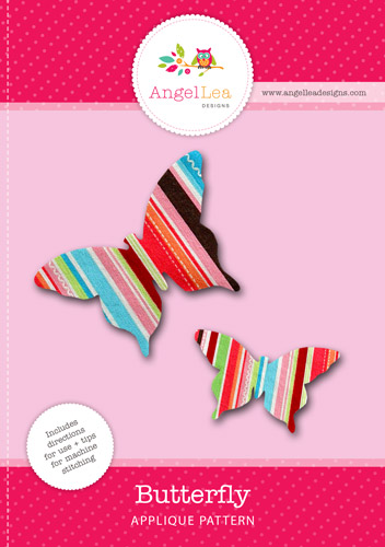Butterfly Applique Template