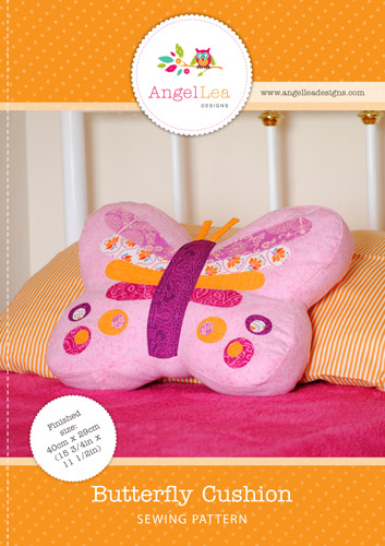 Butterfly Cushion PDF Sewing Pattern