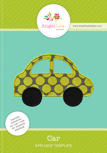 Car Applique Template