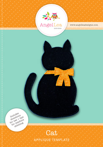 Cat Applique Template