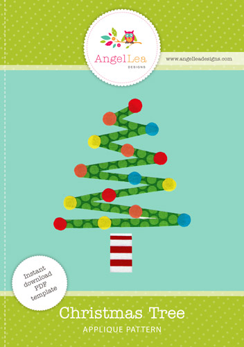 Christmas Tree Applique Template