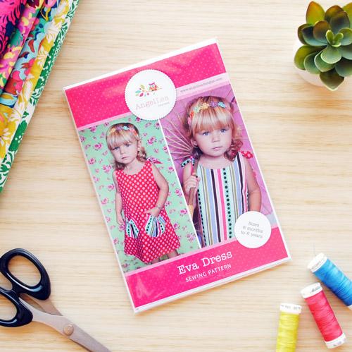 Eva Dress Sewing Pattern - HARD COPY