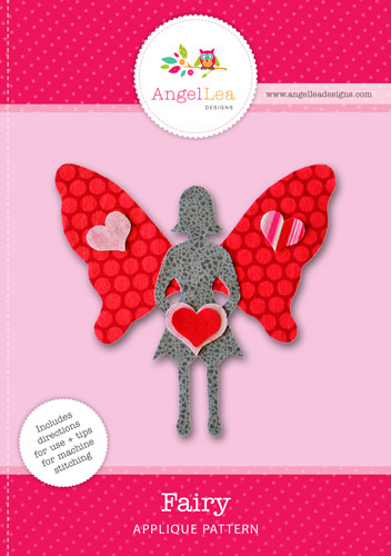 Fairy Applique Template