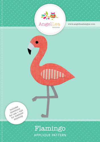 Flamingo Applique Pattern