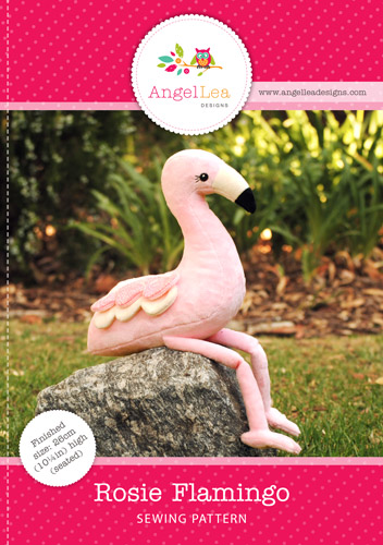 Flamingo Soft Toy PDF Sewing Pattern