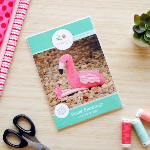 Flamingo Sewing Pattern - HARD COPY
