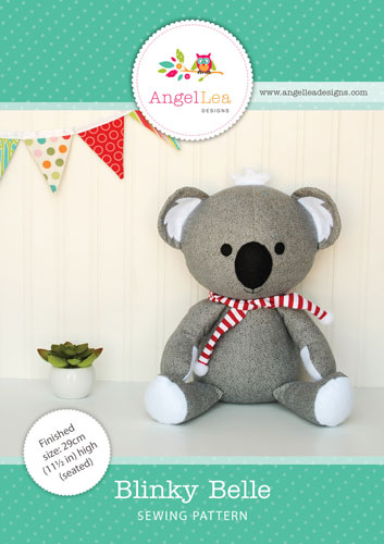 Blinky Belle Koala PDF Sewing Pattern