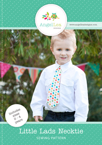 Little Lads Necktie PDF Sewing Pattern