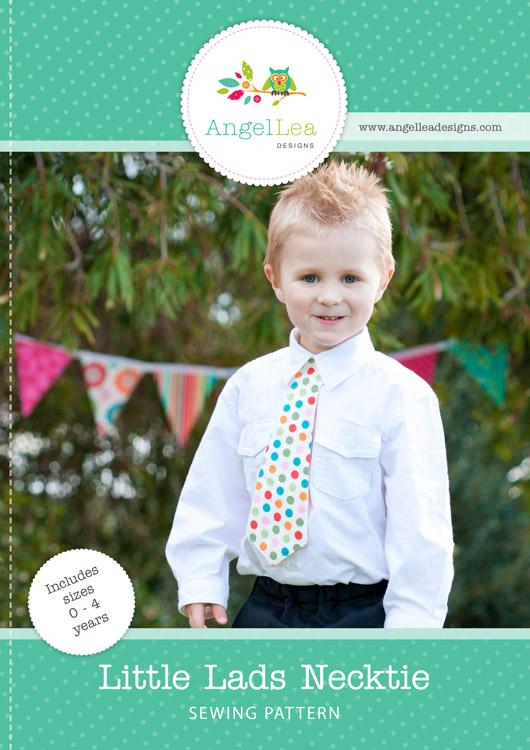 Little Lads Necktie PDF Sewing Pattern
