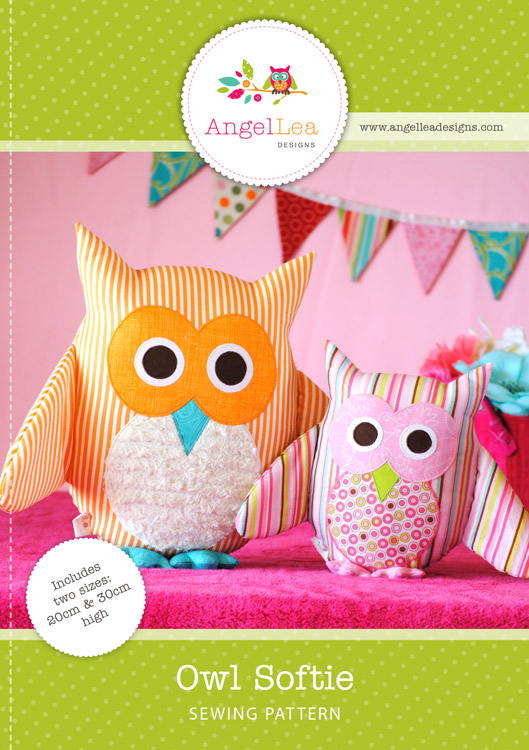 Owl Softie PDF Sewing Pattern