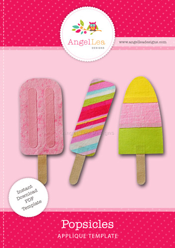Popsicles Applique Template