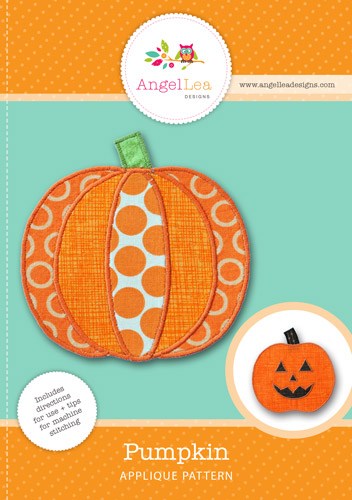 Pumpkin Applique Template