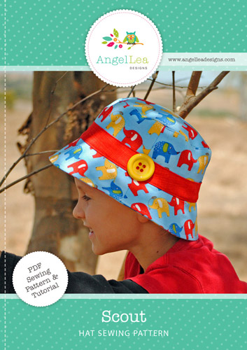 Scout Hat PDF Sewing Pattern
