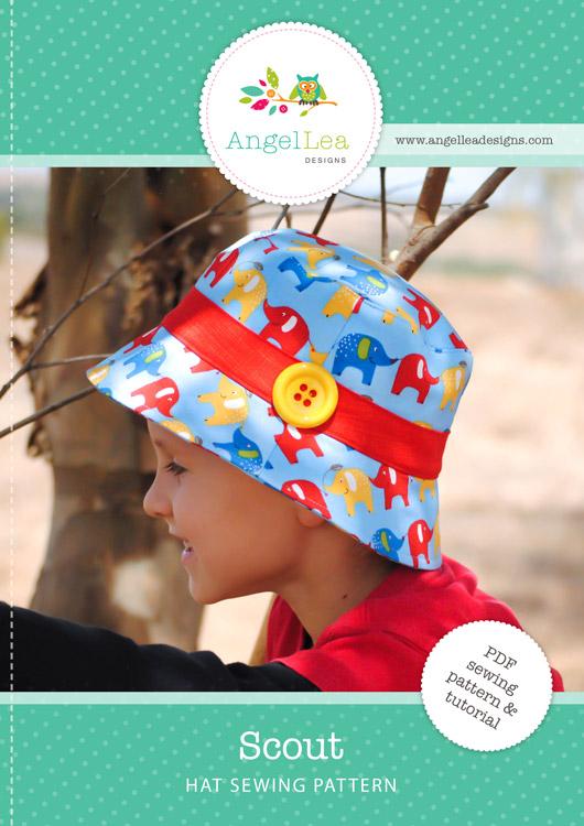 Scout Hat PDF Sewing Pattern