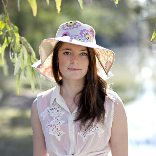 Spring Blooms Sun Hat PDF Sewing Pattern