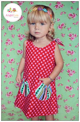 Eva Dress PDF Sewing Pattern - Angel Lea Designs