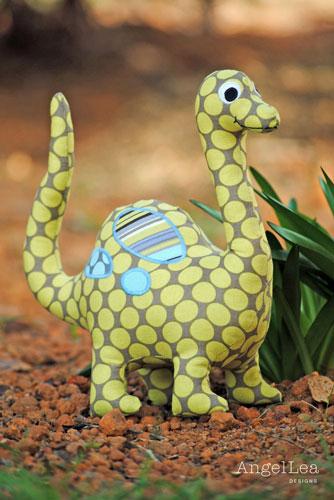 free printable dinosaur sewing patterns