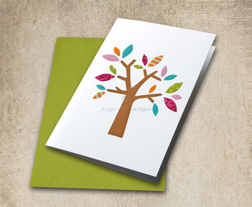 Tree Applique Template