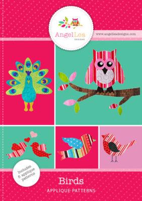 Bird Applique Patterns by Angel Lea Designs