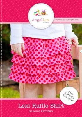 Lexi ruffle skirt pattern