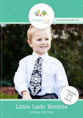little lads necktie pattern