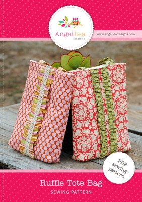 ruffle tote bag pattern