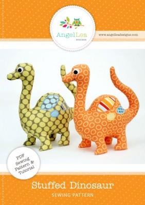 stuffed dinosaur sewing pattern