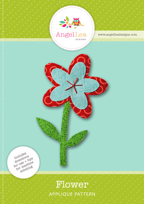 free flower applique pattern