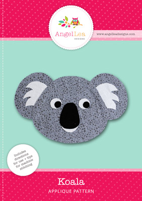 free koala applique pattern