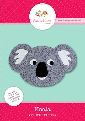 free koala applique pattern