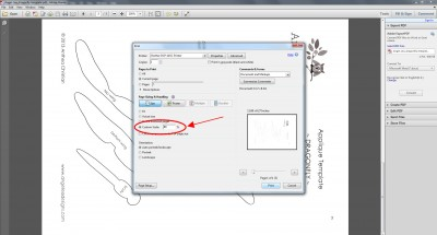 how to resize applique template